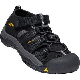 Keen Newport H2 Sandals Ungdom black/keen yellow